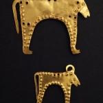 Гроб 36 - Амулети - фигурки на бик - 1